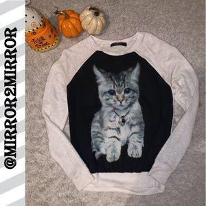 🐱Carrie Allen Women's Kitten Sweater
